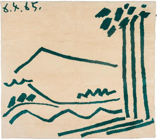 after Pablo Picasso, 'Tapestry', circa 1965, Heritage Auctions