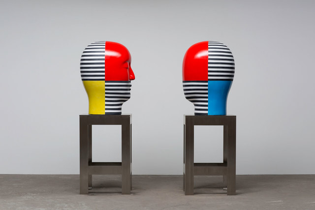 , 'Untitled, Heads,' 2016, Rena Bransten Gallery