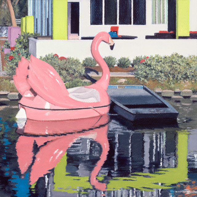, 'Venice Beach Flamingo,' 2017, G. Gibson Gallery