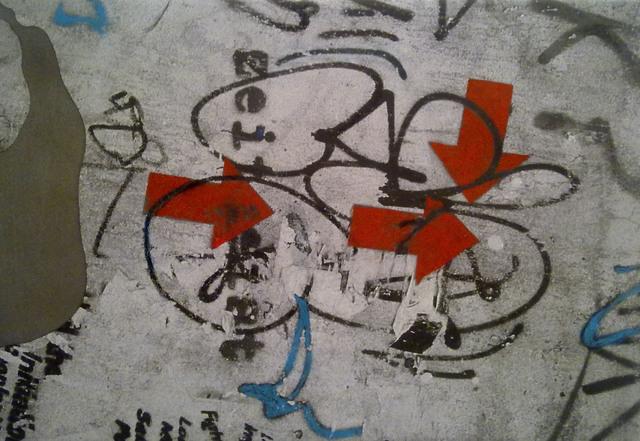 , 'Graffiti y flechas,' 2013, Luis Adelantado