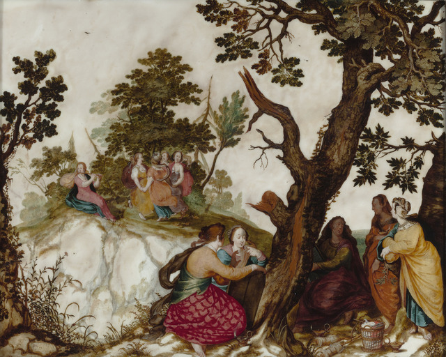 , 'The Parable of the Wise and Foolish Virgins,' ca. 1620, M.S. Rau Antiques
