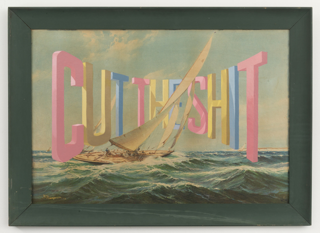 , 'Cut the Shit,' 2017, Joshua Liner Gallery