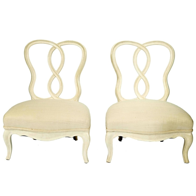 , 'Pair of Slipper Chairs,' Mid 20th Century, Galerie XX