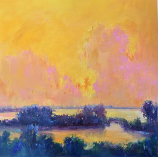 , 'Tangerine Sky II,' 2018, 530 Burns Gallery