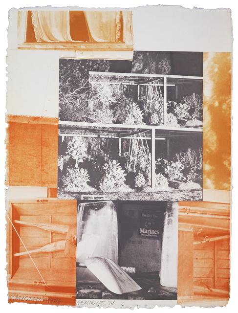 , 'Rookery Mounds - Masthead,' 1979, Gemini G.E.L. at Joni Moisant Weyl