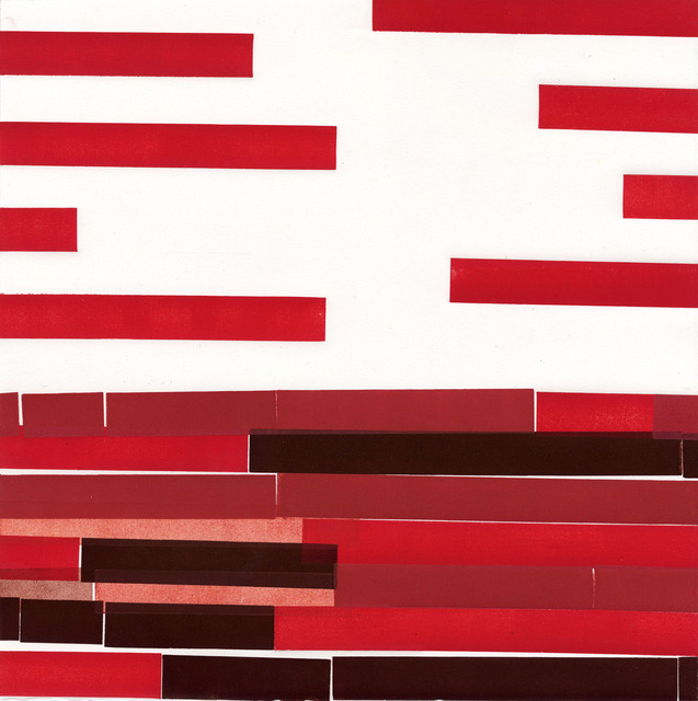 , 'Red Number 8,' 2015, SHIM Art Network