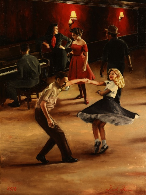 Seth Harris, 'Jive Party at the Back Room', 2018, The Galleries at Salmagundi