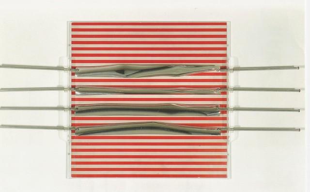 , 'Relief 19, 1970 Brodure Transparente 12/200 15.7 x 15.7 x 1.5 in. 40 x 40 x 4 cm,' 1970, Durban Segnini Gallery
