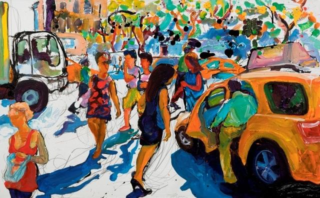 , 'Cab Snake,' 2015, Galerie Barbara von Stechow