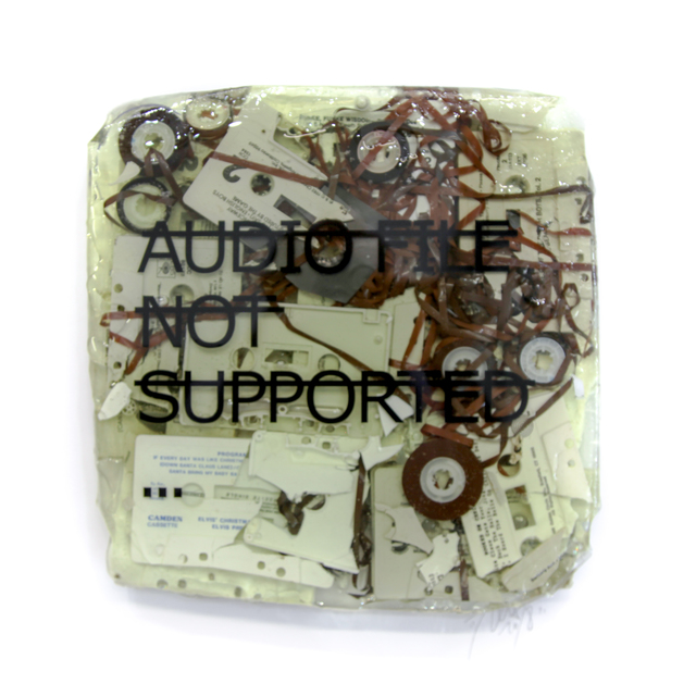 , 'Untitled (AUDIO FILE NOT SUPPORTED...),' 2018, Fabien Castanier Gallery