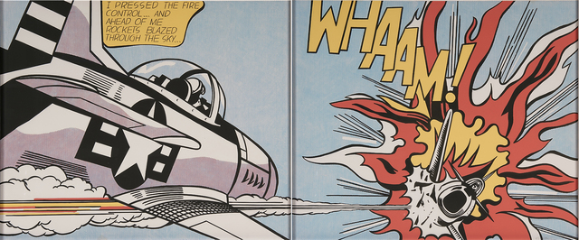 Roy Lichtenstein, 'Whaam!', 1967, Print, Offset lithographs in colors (diptych, framed separately), Rago/Wright