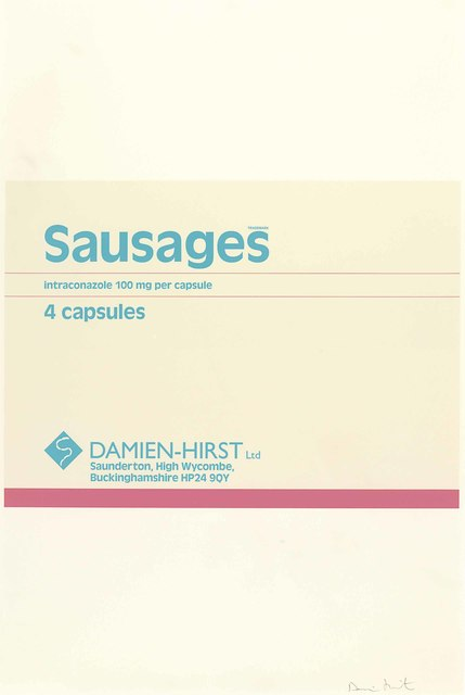 Damien Hirst, 'Sausages, from The Last Supper', 1999, Kunzt Gallery