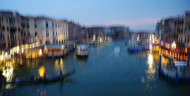 , 'Canale Grande Venezia,' 2017, Walter Bischoff Gallerie