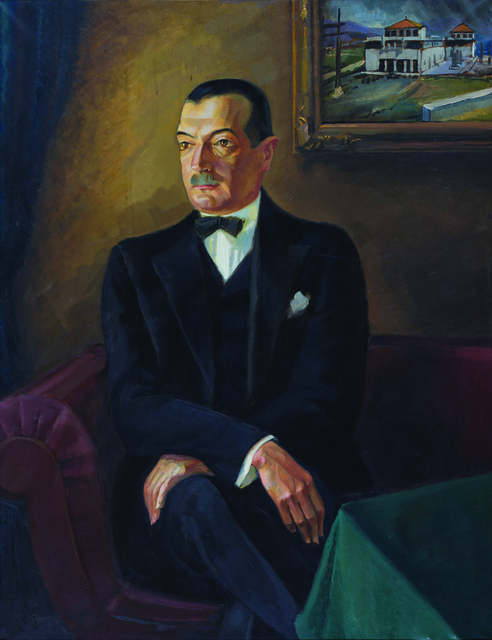 , 'Portrait of Ivo Tartaglia,' 1930, Museum of Modern Art Dubrovnik