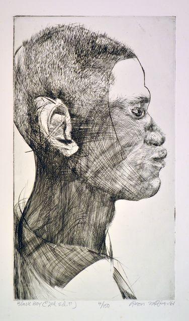 , 'Black Boy,' Add Artwork year, Venvi Art Gallery