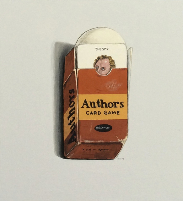 , 'Authors Card Game,' 2014, Albert Merola Gallery