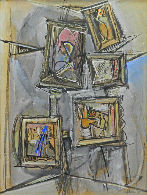 , 'Composition of Abstract Paintings,' 1955, Addison Rowe Gallery