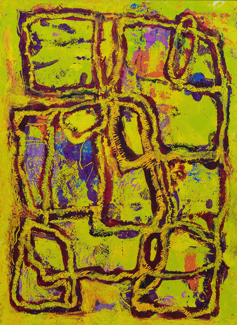 , 'Untitled- Yellow (Gifted to David Halsey),' n.d., The George Gallery