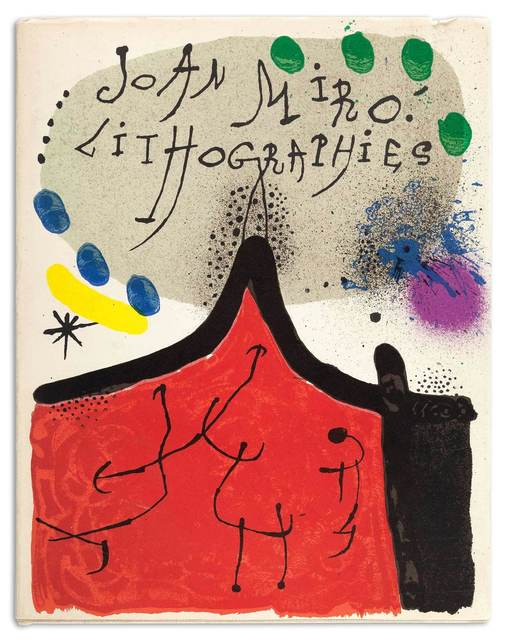 Joan Miró, 'MIRÓ LITHOGRAPHS VOLUME 1 (M. 854; 857-867; C. BOOKS 160)', 1972-81, Doyle