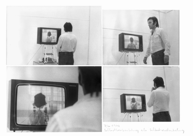 , 'Self viewing as self forgetting as self darkening,' 1974, Anita Beckers