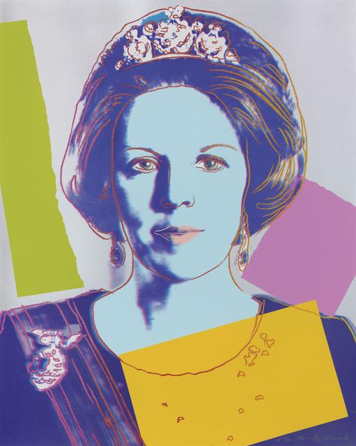 Andy Warhol, 'Queen Beatrix of the Netherlands', 1985, Okker Art Gallery