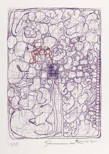 """, '""""o.T."""" aus Mappe """"Frühe Architekturzeichnungen"""",' 2007, Galerie Elisabeth & Klaus Thoman"""
