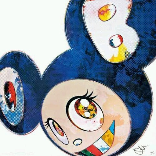 Takashi Murakami, 'AND THEN X6 BLUE', 2013, Marcel Katz Art