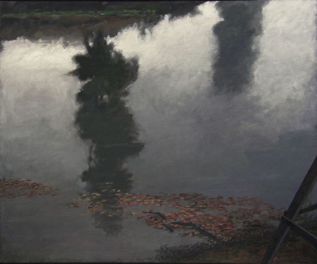 , 'LOOKING DOWN, RIVER REFLECTIONS,' 2015-2016, Greg Kucera Gallery