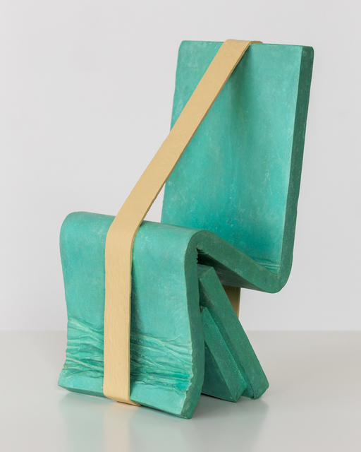 , 'Chair Form with Band,' 2014, David Kordansky Gallery
