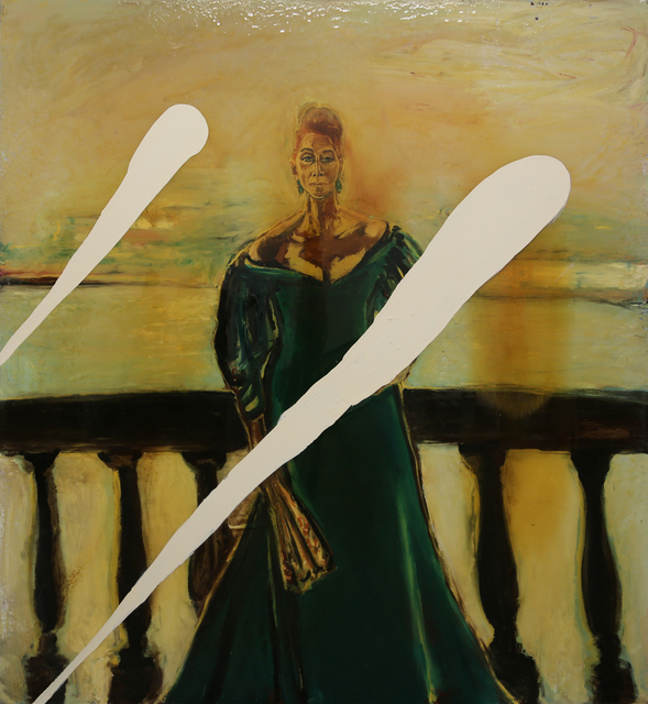 Julian Schnabel, 'Portrait of Ines Tolonia', 1997, Mana Contemporary