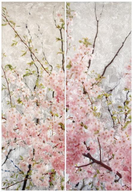 , 'Cherry Reverie (Diptych),' 2018, Gallery Henoch