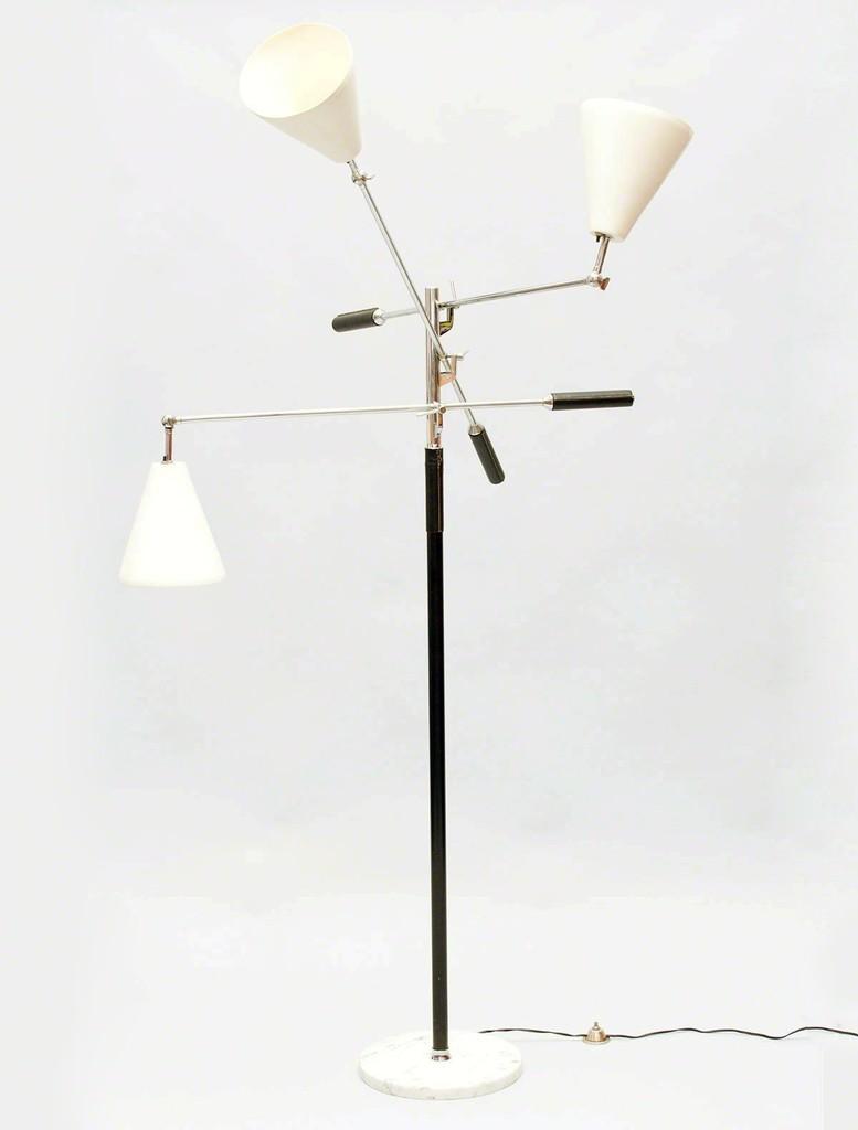 arredoluce   arm floor lamp (s)  artsy - arredoluce ' arm floor lamp' s patrick parrish gallery