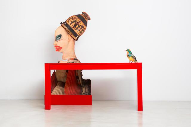 , 'A Little Bird Told Me Desk,' 2018, THE NEW