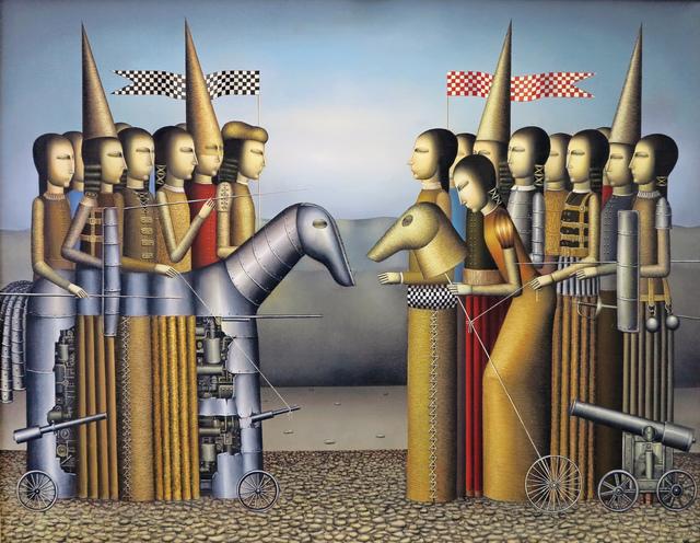 """, '""""Antagonism"""" / """"Düşmanlık"""",' 2014, Galeri 77"""
