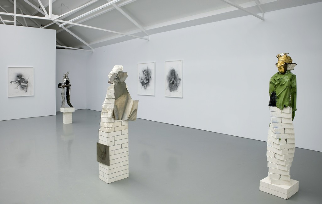 Matthew Monahan, exhibition overview at Galerie Fons Welters 2011. Photo: Gert Jan van Rooij.