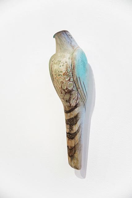 , 'CELADON LACE BIRD,' 2019, Traver Gallery