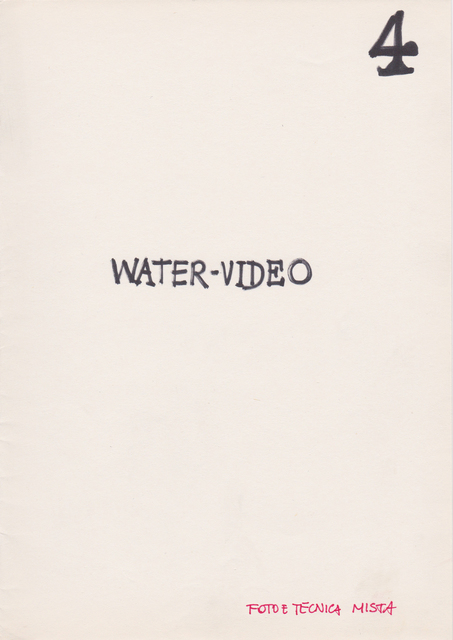 , 'Progetto Libro: Water Video,' , Beck & Eggeling