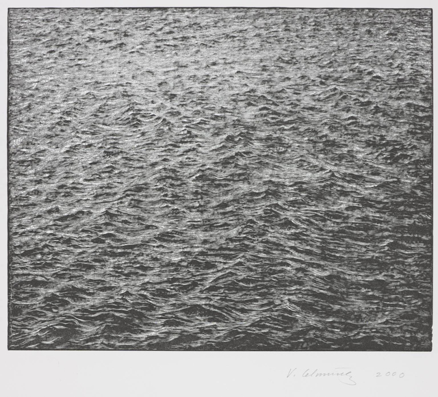 , 'Ocean Surface,' 2000, Susan Sheehan Gallery