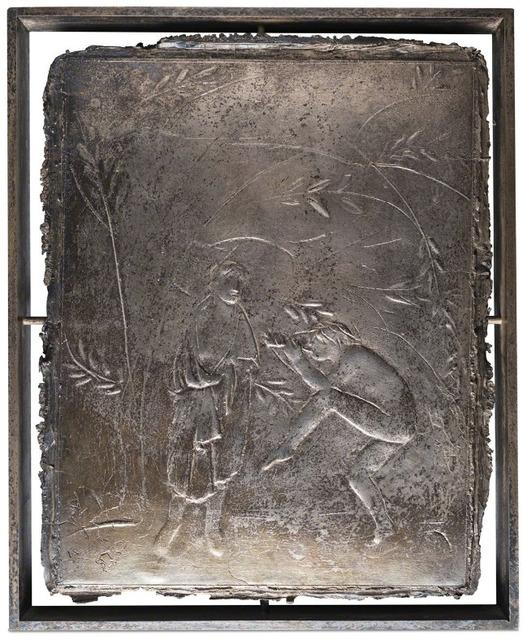 Giacomo Manzù, 'Orfeo nel mio studio (incontro)', 1934, Rosenberg & Co.