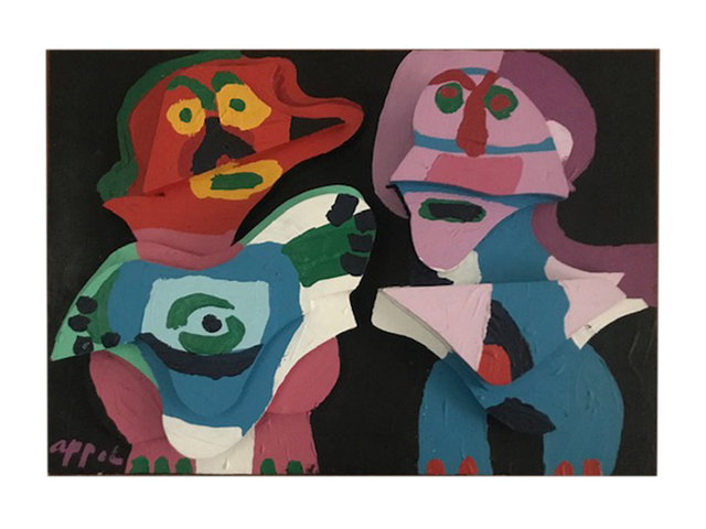 Karel Appel, 'Couple in Wood', 1975, Nikola Rukaj Gallery