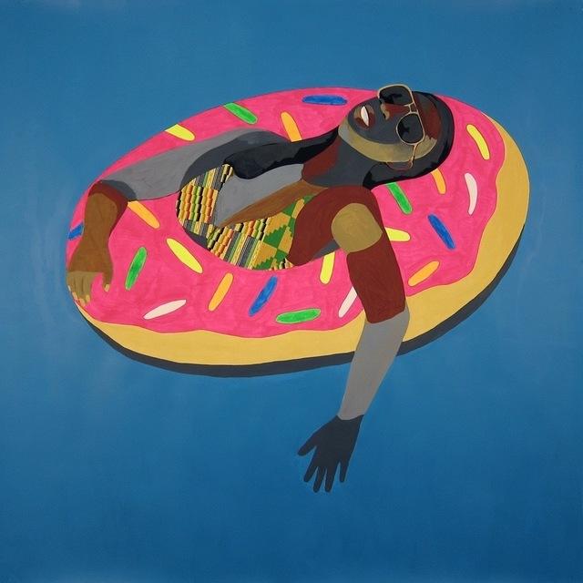 , 'Floater No. 30 (Pink Doughnut),' 2016, Vigo Gallery