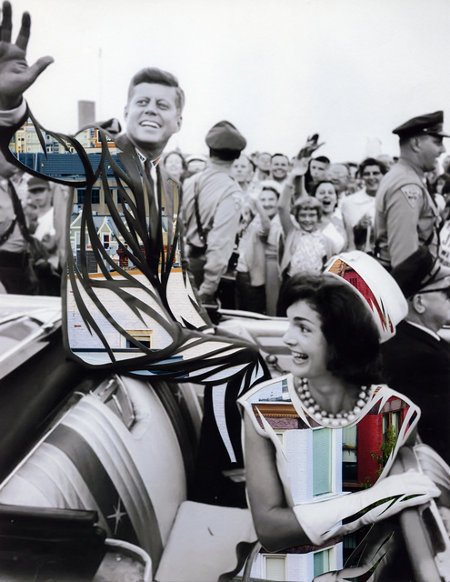 , 'Cross the Party Line: JFK and Jackie ,' 2017, Artist's Proof