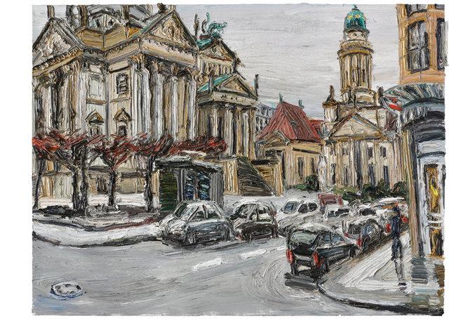 , 'Wintertag am Gendarmenmarkt,' 2015, Ludorff