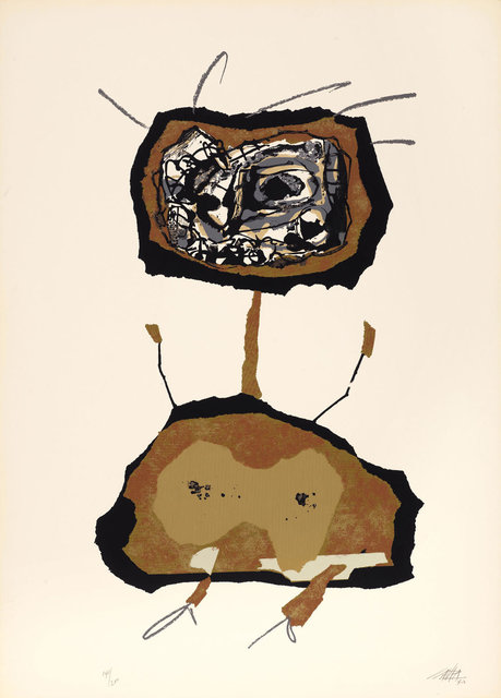 Antonio Saura, 'Dama en tecnicolor II', 1970, Koller Auctions