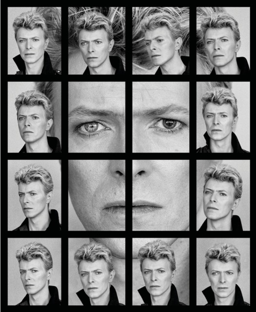 , 'David Bowie's Eyes Collage ,' 1982, Imitate Modern