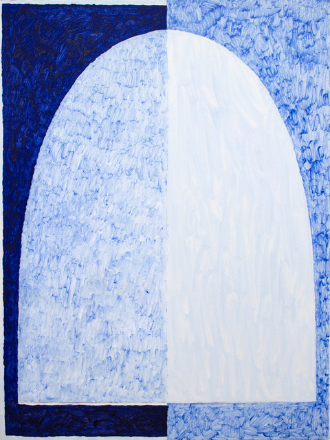 , 'Arch with Blue Veil,' 2018, Uprise Art