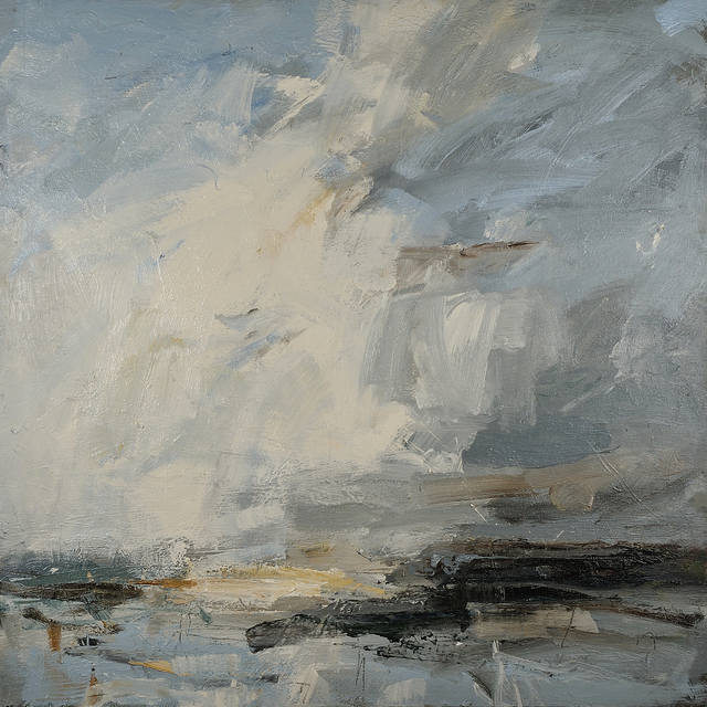 , 'White cloud leap, Norfolk coast,' 2019, Cadogan Contemporary