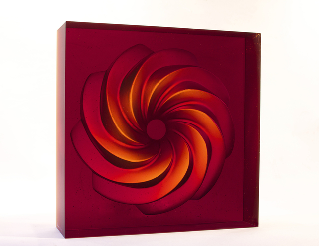, 'Holos Spiral Portal,' 2014, Maria Elena Kravetz