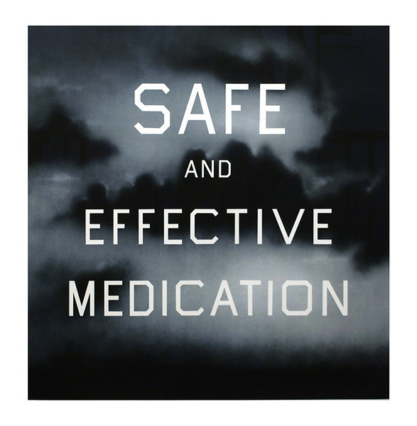 , 'Safe and Effective Medication,' 2001, Mary Ryan Gallery, Inc