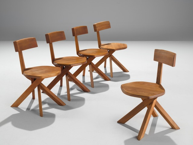 , 'Five Chairs with 7-Shaped S34,' ca. 1973, MORENTZ